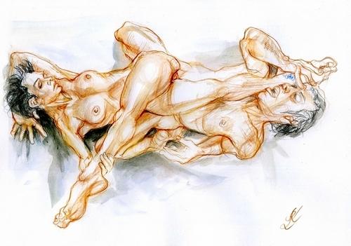 Thomas et Agnieszka. Prendre son pied 1